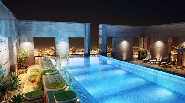 clarion-hotel-post-rooftop-pool